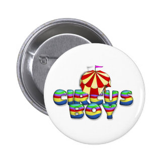 TEE Circus Boy 6 Cm Round Badge
