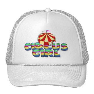 TEE Circus Girl Mesh Hats