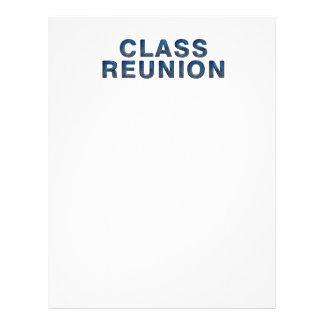 TEE Class Reunion 21.5 Cm X 28 Cm Flyer