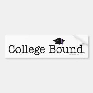 TEE College Bound Bumper Sticker