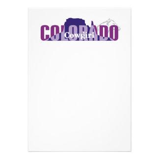 TEE Colorado Cowgirl Announcements