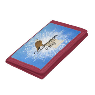 TEE Constitution Party 2016 Tri-fold Wallet