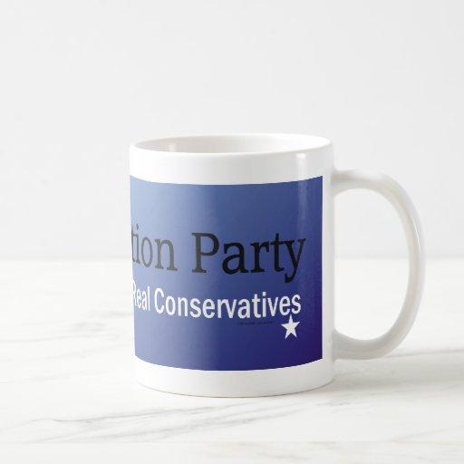 TEE Constitution Party Basic White Mug