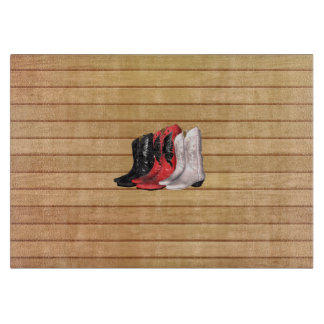 TEE Country Boots Cutting Board