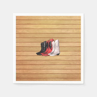 TEE Country Boots Disposable Napkin
