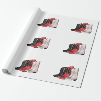 TEE Country Boots Wrapping Paper