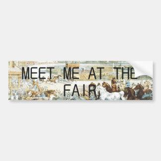 TEE Country Fair Bumper Sticker