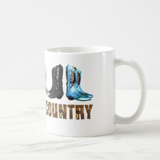 TEE Country Line Dance Coffee Mug