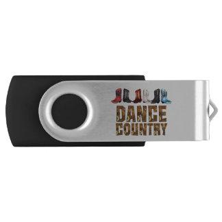 TEE Country Line Dance USB Flash Drive
