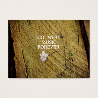 TEE Country Music Forever Business Card
