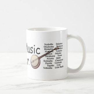 TEE Country Music Forever Basic White Mug
