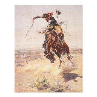 TEE Cowboy Life 21.5 Cm X 28 Cm Flyer
