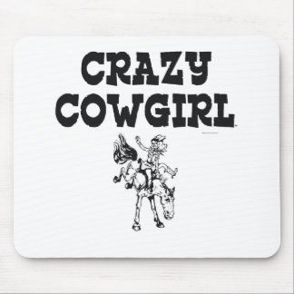 TEE Crazy Cowgirl Mouse Mat