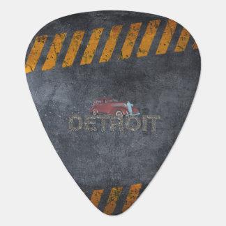TEE Detroit Guitar Pick