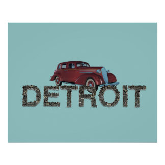 TEE Detroit Poster