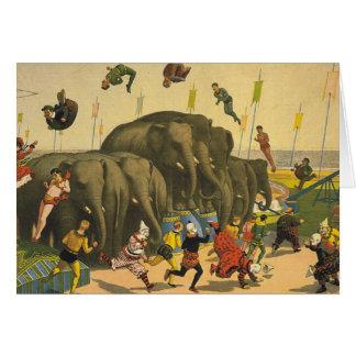 TEE Elephant Acrobatics Card