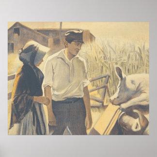 TEE Farm Life Poster