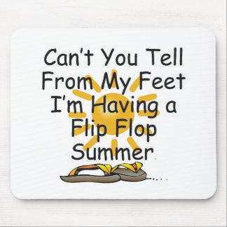 TEE Flip Flop Mouse Pad