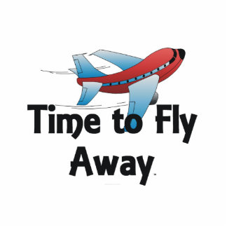TEE Fly Away Photo Cut Out