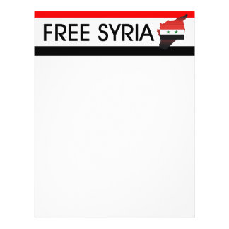 TEE Free Syria Personalized Flyer