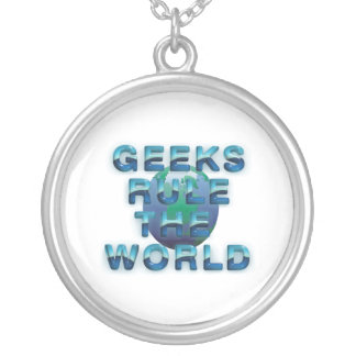 TEE Geeks Rule the World Necklaces