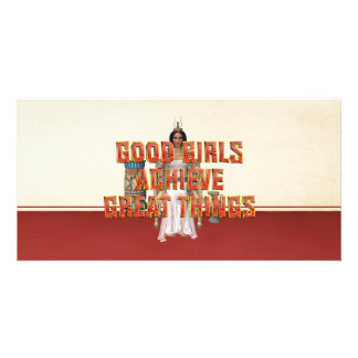 TEE Good Girls Achieve Photo Cards