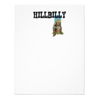 TEE Hillbilly Boy Girl Personalized Invitation