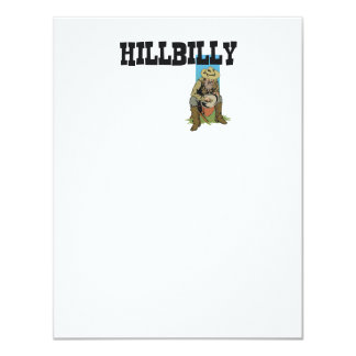 TEE Hillbilly Boy/Girl Personalized Invitation