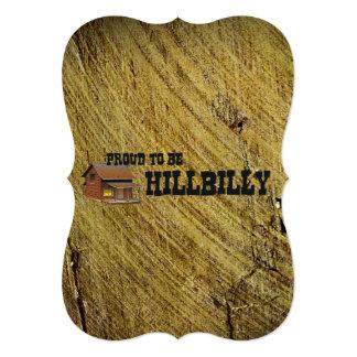 TEE Hillbilly Pride 13 Cm X 18 Cm Invitation Card