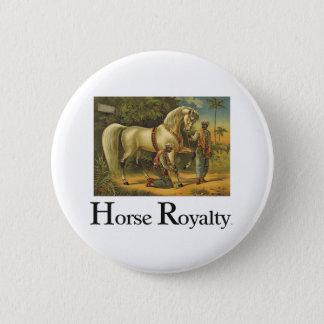 TEE Horse Royalty 6 Cm Round Badge