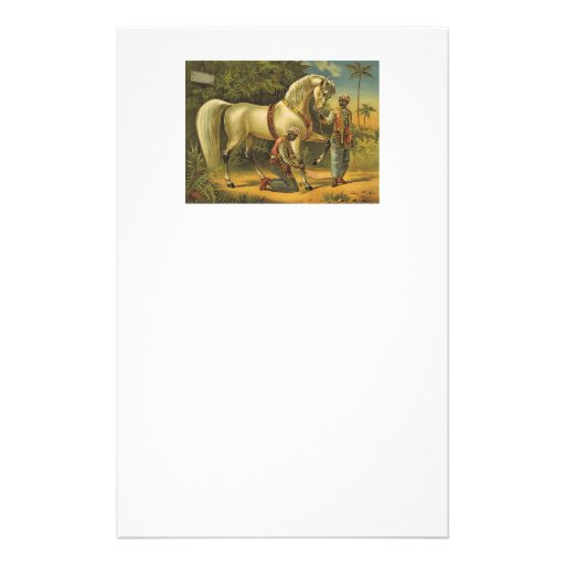 TEE Horse Royalty Stationery Design