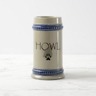 TEE Howl Beer Stein
