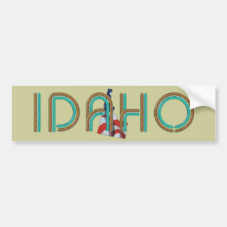 TEE Idaho Patriot Car Bumper Sticker