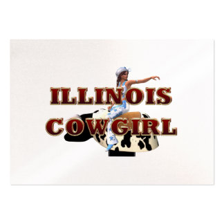 TEE Illinois Cowgirl Business Card Templates