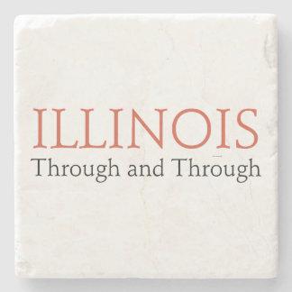TEE Illinois Stone Coaster