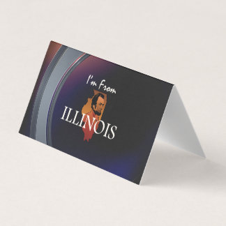 TEE I'm from Illinois Business Card