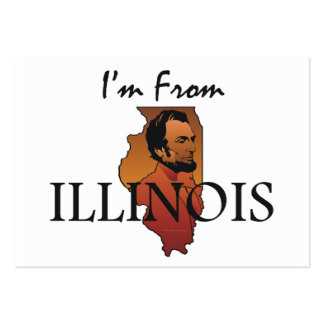 TEE I'm From Illinois Business Card Template