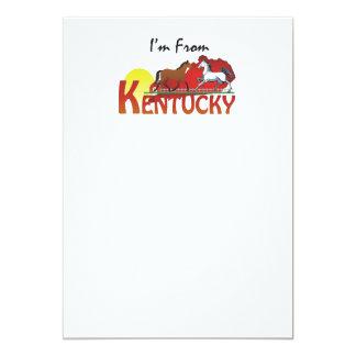 """TEE I'm From Kentucky 5"""" X 7"""" Invitation Card"""