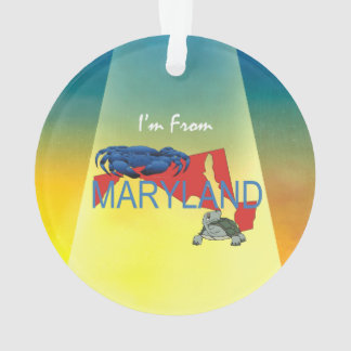 TEE I'm from Maryland Ornament