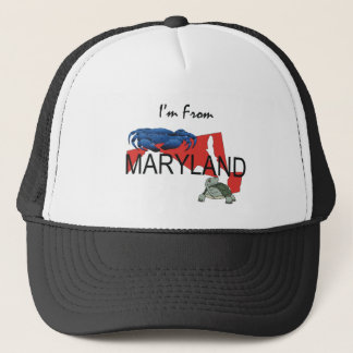 TEE I'm From Maryland Trucker Hat