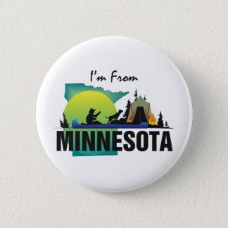TEE I'm From Minnesota 6 Cm Round Badge