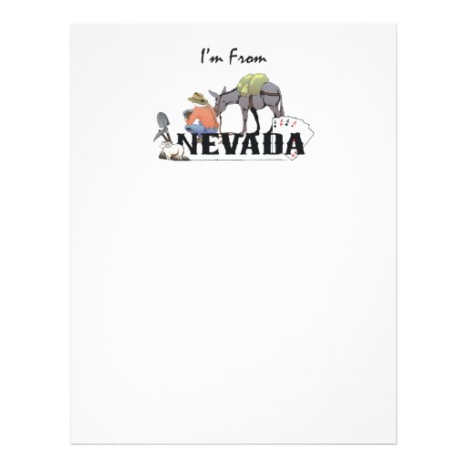 TEE I'm from Nevada Flyer