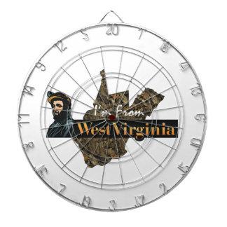 TEE I'm From West Virginia Dartboard