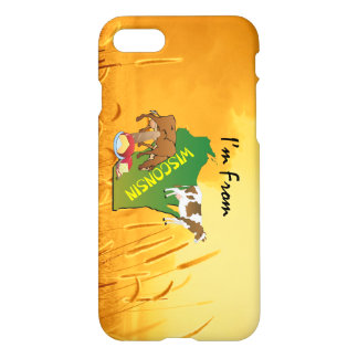 TEE I'm from Wisconsin iPhone 7 Case