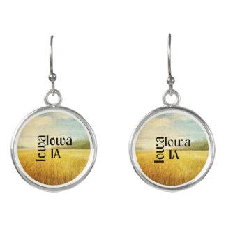 TEE Iowa Earrings