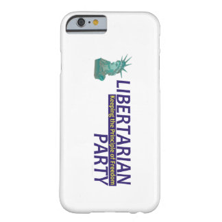TEE Libertarian Party Barely There iPhone 6 Case