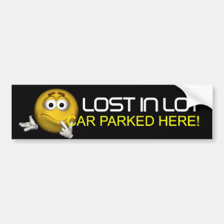 TEE Lost in Lot Bumper Stickers