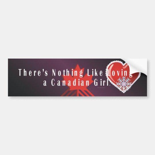 TEE Love Canadian Bumper Sticker