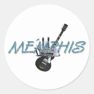 TEE Memphis Round Sticker