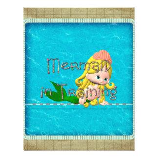 TEE Mermaid in Training 21.5 Cm X 28 Cm Flyer